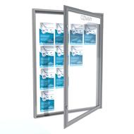 Informačné vitríny jednokrídlové otváranie do strán