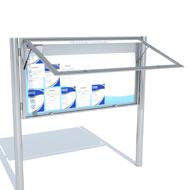 Informačné vitríny jednokrídlové