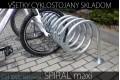 Stojan na bicykle SPIRAL maxi, 4 + 4 miestny