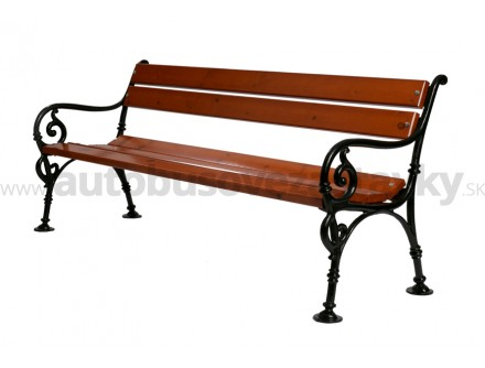 Liatinová lavička Schonbrunn LL009