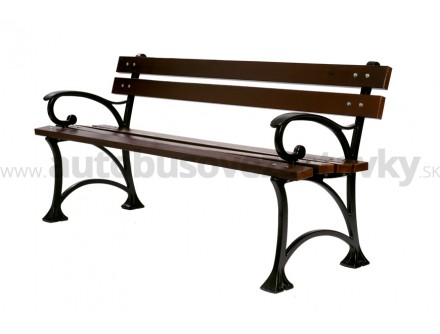 Parková liatinová lavička LL026