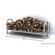 Stojan na palivové drevo S 0,1m3