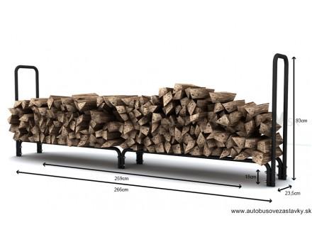 Stojan na palivové drevo XL 1,0m3