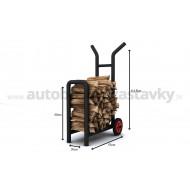 Vozík na palivové drevo 0,18m3