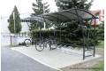 Prístrešok pre bicykle 6,0m Jednostranný