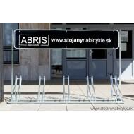 Reklamný stojan na bicykle ALFA, 4 miestny