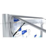 Informačná vitrína jednokrídlová pre 15ks x A4