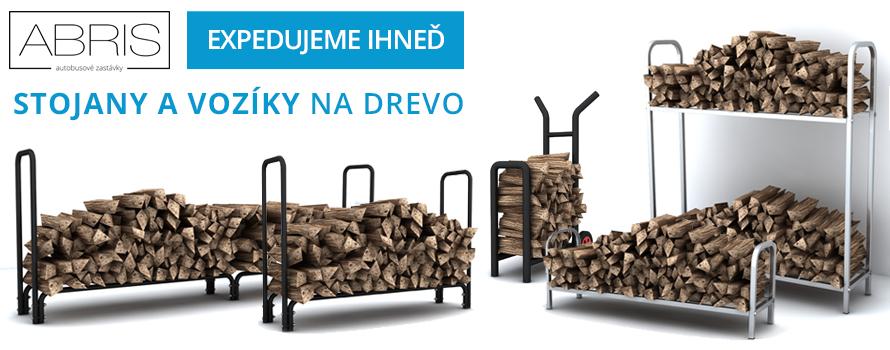 Praktické stojany na drevo