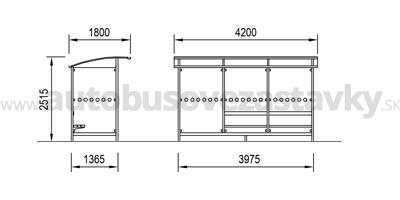 rozmery-autobusove-pristresky-model-ABRIS-3.A